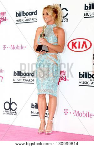 LAS VEGAS - MAY 22:  Britney Spears at the Billboard Music Awards 2016 at the T-Mobile Arena on May 22, 2016 in Las Vegas, NV