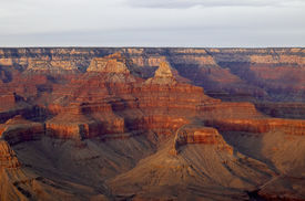Mountains And Valleys - Grand Canyon