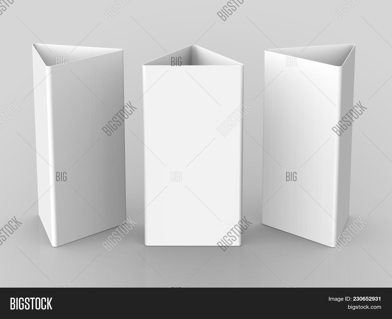 Blank Table Tent, 3d Image & Photo (Free Trial) | Bigstock
