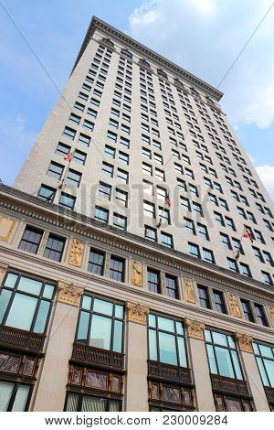 Baltimore, Usa - June 12, 2013: Baltimore Gas And Electric Company Building Exterior View. It Was Th