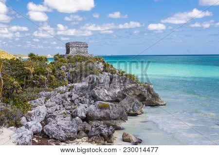 Ruins In Tulum, Mexico