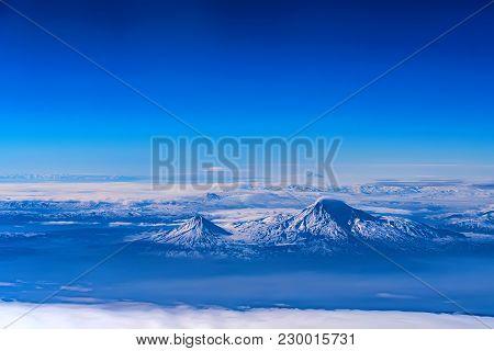 Aerial View Of Mount Ararat