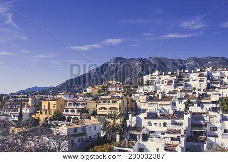 Marbella. View Of Marbella. Picture Taken - 14 February 2018.