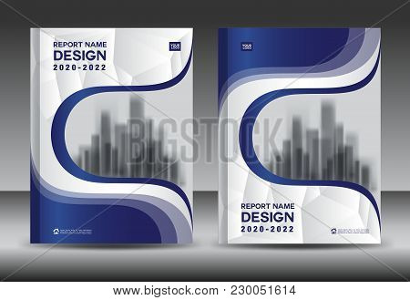 Cover Layout Template, Red Brochure Flyer Design, Poster, Blue Leaflet Layout, Idea Book Cover