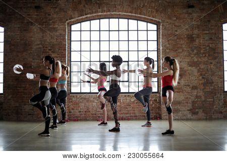 Young women training