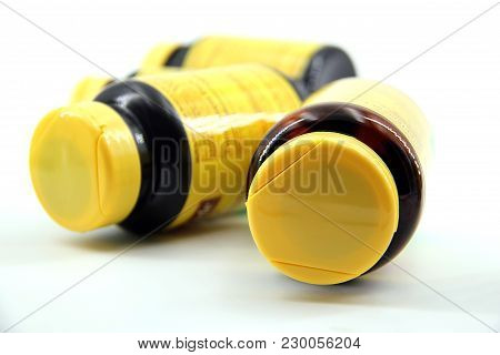Pill Bottles Perspective