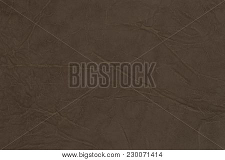 Light Brown Leather Texture Surface. Close-up Of Natural Grain Cow Leather Light Brown Leather Textu