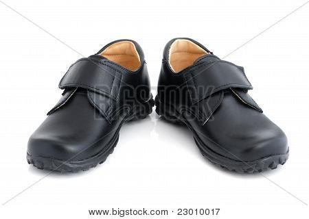 Child's Black Shoes