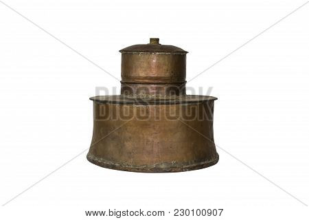 Alcohol Distillery For Making Schnapps, Whiskey, Brandy. Traditional Copper Set