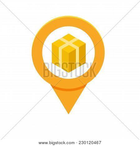 Parcel, Package Tracking Online App Concept. Vector Illustration.