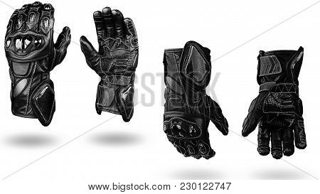 Fall In Love With This Elegance Black Driving Leather Hand Gloves That Comfortable To Wear During Dr