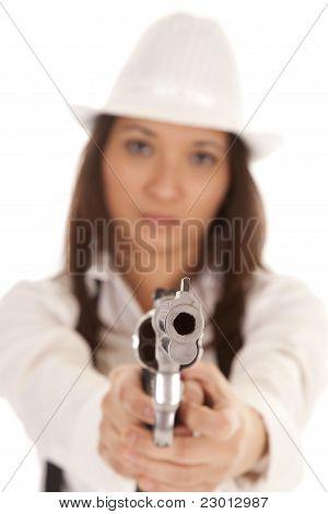 Gangster Pointing Gun
