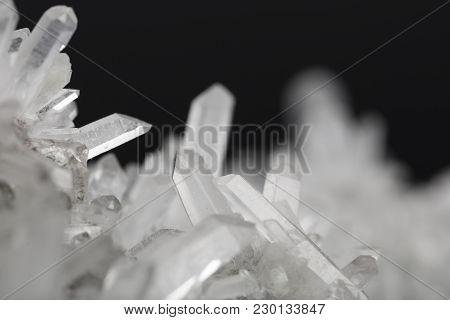 Crystal Quartz Mineral Specimen Quartz White Gem
