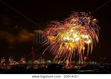 Montreal Firework