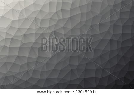 Illustration of a modern low poly background