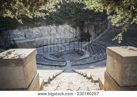 Greek Theater,teatre Grec, Gardens, Built For 1929 Barcelona International Exposition, This Amphithe