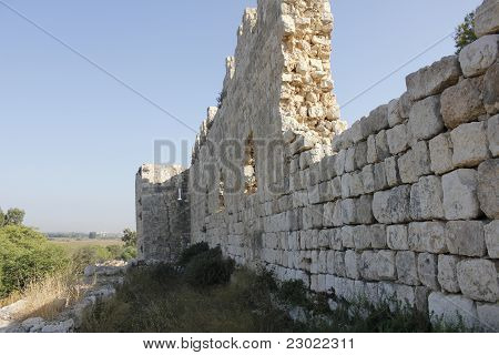 Archaeology site near to Te Aviv, Ruins of Afek and Migdal Tzedek poster