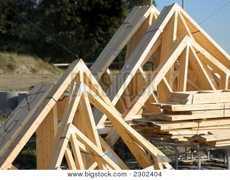 Wooden Roof Trusses