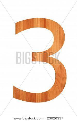 Wood Alphabet 3