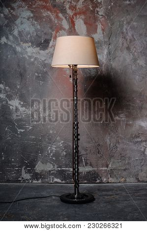 Floor Lamp Is Handmade. Unusual Lamp And Chic Gift. Made To Order From Auto Parts.