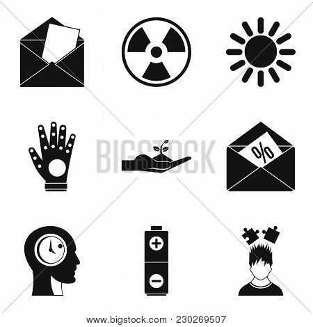 Plan Icons Set. Outline Set Of 9 Plan Vector Icons For Web Isolated On White Background
