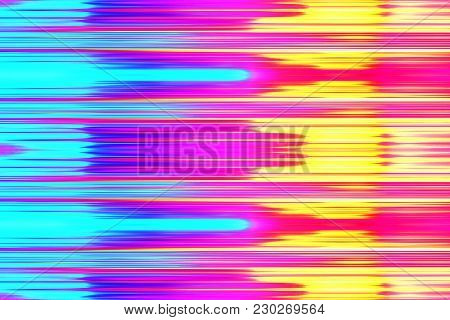 A Colorful Hot And Cold Blur Background