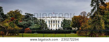 Grey Day White House (banner)