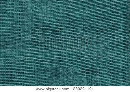 Scratched Coarse Old Burlap Indigo Natural Canvas Sacking Fabric Texture