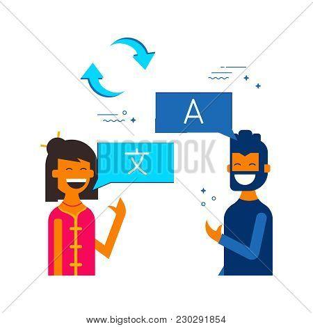 Friends Translating Online Social Media Chat