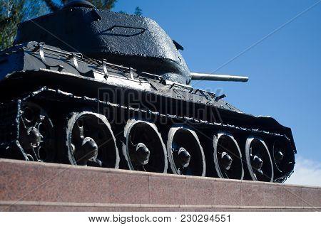 Pedestal Tank Of The Second World War