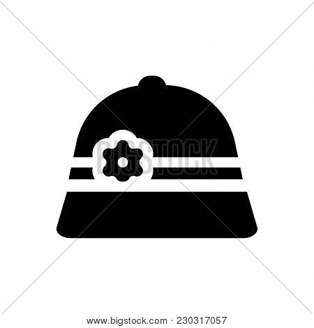 Hat Vector Icon On White Background. Hat Modern Icon For Graphic And Web Design. Hat Icon Sign For L