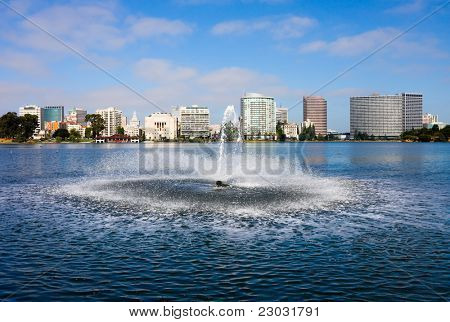 Lake Merritt in Oakland, California