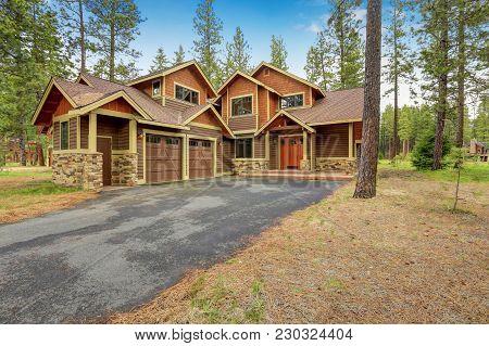 Beautiful Custom Made Home Exterior