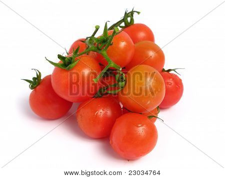 Group of Cherry tomatoes
