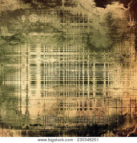 Grunge texture, Vintage background. With different color patterns