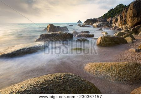 Beautiful Sea Scape Long Exposure Photography Style