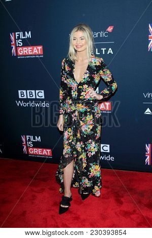 LOS ANGELES - MAR 2:  Georgia Toffolo at the Film Is GREAT Reception Honoring British Oscar Nominees at the British Residence on March 2, 2018 in Los Angeles, CA