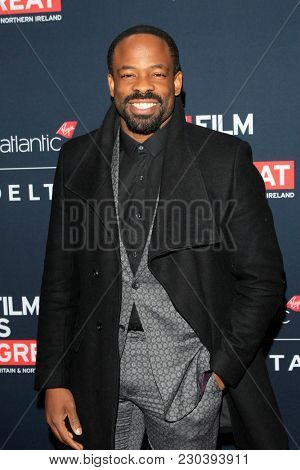 LOS ANGELES - MAR 2:  Chike Okonkwo at the Film Is GREAT Reception Honoring British Oscar Nominees at the British Residence on March 2, 2018 in Los Angeles, CA