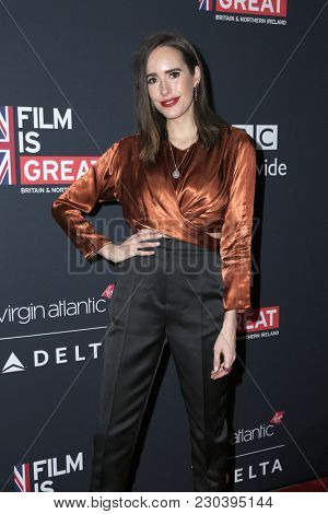 LOS ANGELES - MAR 2:  Louise Roe at the Film Is GREAT Reception Honoring British Oscar Nominees at the British Residence on March 2, 2018 in Los Angeles, CA