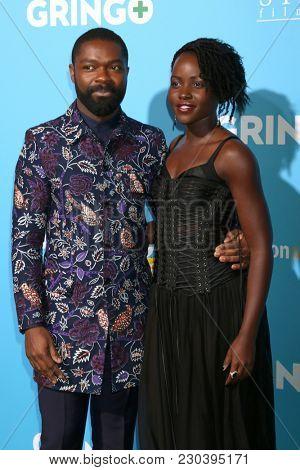 LOS ANGELES - MAR 6:  David Oyelowo, Lupita Nyong'o at the