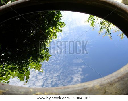 Reflex Sky and Trees on water
