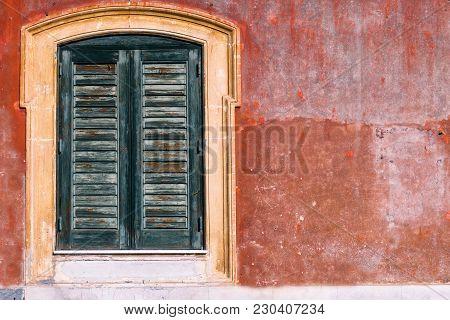 Ancient Wall Window