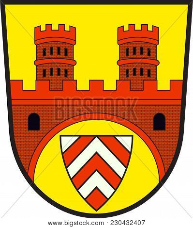 Coat Of Arms Of Bielefeld Is A City In The Ostwestfalen-lippe Region In The North-east Of North Rhin