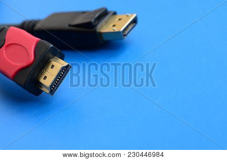Audio Video Hdmi Computer Cable Plug And 20-pin Male Displayport Gold Plated Connector For A Flawles