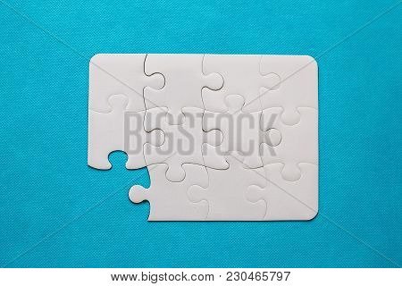 Jigsaw Puzzle With Missing Piece