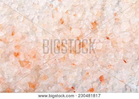 coarse grained salt background - full frame