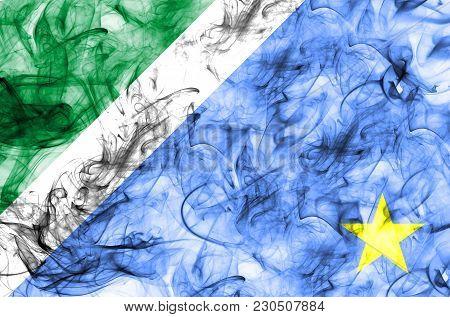 Mato Grosso Do Sul Smoke Flag, States In Brazil