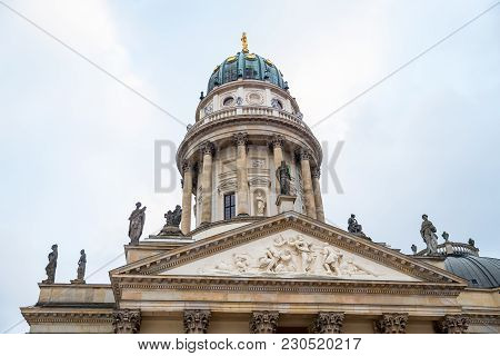 German Church In Gendarmenmarkt, Berlin City, Germany