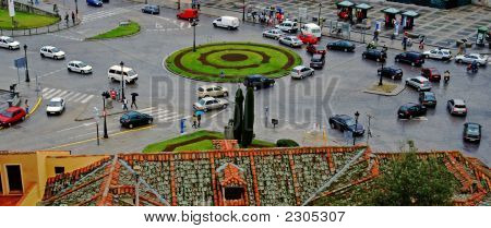 Roundabout Spain