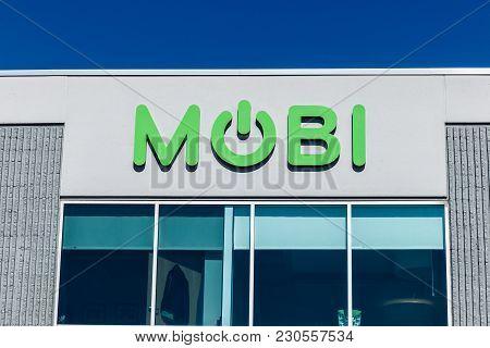Indianapolis - Circa March 2018: Mobi Wireless Management Headquarters I